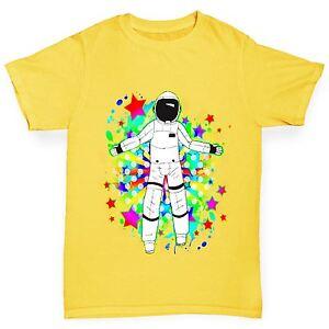 Twisted-Envy-Boy-039-s-Space-Jam-astronaute-Drole-T-Shirt