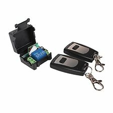 Rf Wireless Fixed Code Remote Control And 1 Channel Receiver Momentary Switch