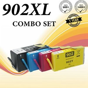 4-Ink-Cartridge-for-HP-OfficeJet-Pro-6960-6970-6968-6975-6974-6958-Printer-902XL