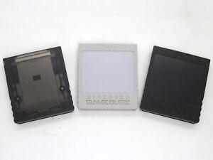 Official-Nintendo-GameCube-Memory-Card-Black-251-DOL-014-Grey-DOL-008-59-Blocks
