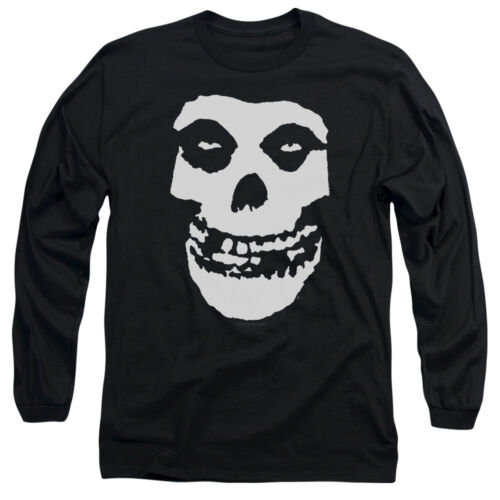 Misfits Band Classic FIEND SKULL Licensed Long Sleeve T-Shirt S-3XL