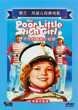 Poor Little Rich Girl (1936) - Shirley Temple, Alice Faye - DVD NEW