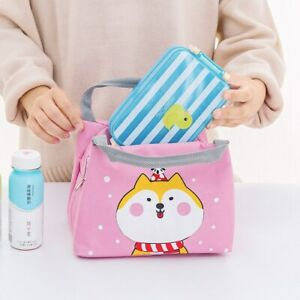 Details about Portable Student Insulation Bag Portable Lunch Bag Thick  Insulation Bag Cheap
