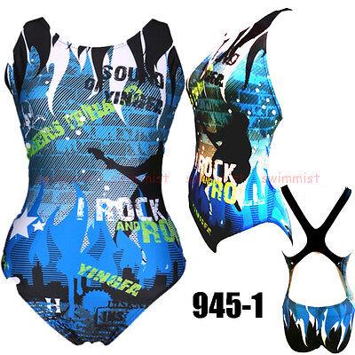 YINGFA 945-1 WOMEN/'S RACING TRAINING SWIMSUIT SWIMWEARS M US GIRLS 10-12 30-40KG