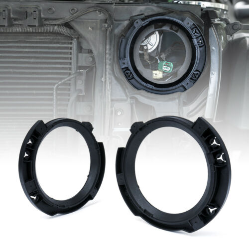 1 Pair Xprite Replacement R//L Headlight Bracket For 2007-2018 Jeep Wrangler JK