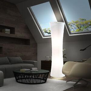 Das Bild Wird Geladen Stehlampe Wohnzimmer Deckenfluter Papier Trittschalter Standleuchte Hoehe 125