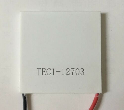 2PCS Thermoelectric Modules 12703 40X40MM High Power Peltier Coolers Kryotherm