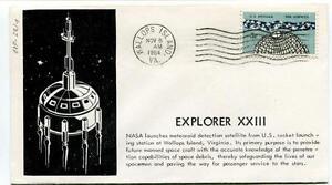 1964 Explorerxxiii Nasa Launcher Meteoroid Detection Satellite Us Mallops Island