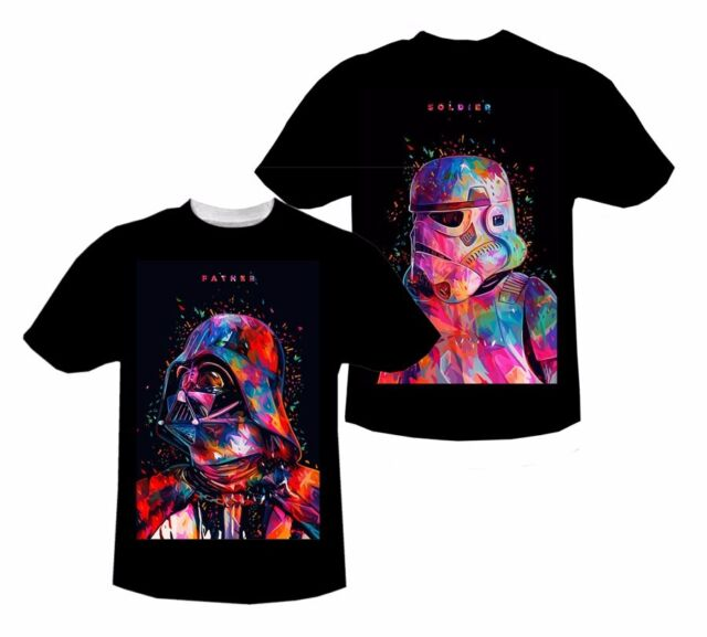 ■■ Star Wars Father Soldier T-shirt # A200