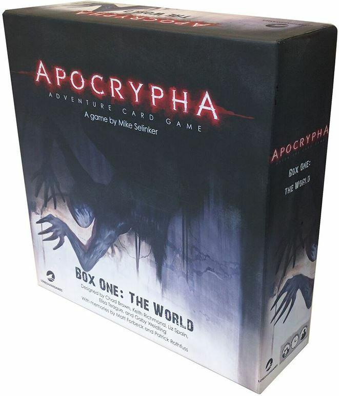Apocrypha-COOPERATIVE Adventure jeu de carte