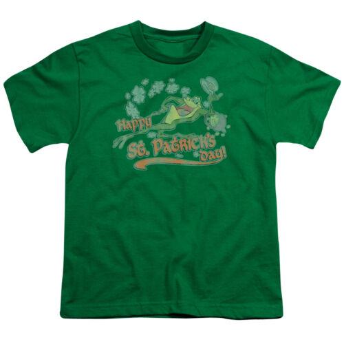LOONEY TUNES MICHIGAN J FROG Happy St Patricks Day BOYS /& GIRLS T-Shirt S-XL