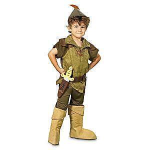 Peter Pan Costume Disney Store Tinkerbell Halloween Costume NEW SALE