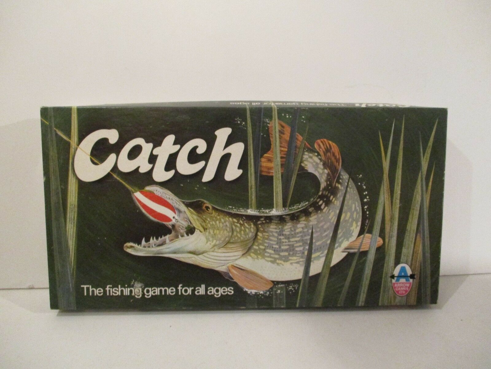 RARE VINTAGE CATCH THE FISHING GAME BY ARROW GAMES C.1960'S 1970'S COMPLETE VGC