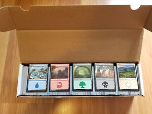 1-000-Basic-Land-lot-200-of-each-Magic-MTG-Collection