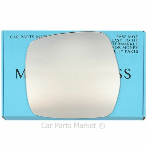 Left Passenger side Wing door mirror glass for Toyota Hiace 2005-12 heated
