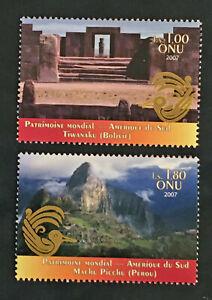 Stamp-United-Nations-Geneve-Stamp-Yvert-Tellier-N-587-amp-588-N-MNH-Cyn36