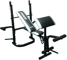 Fit4home TF-WB1048 Striale Weight Bench Black Foldable Fitness Home Gym Workout