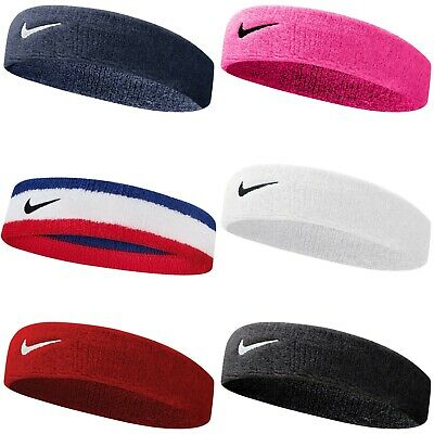 Nike Swoosh Headband Gym Tennis Training Sweatband Sports Running Sweatband Fit