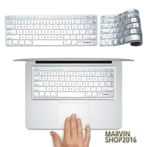 """Silicon Keyboard Protector Cover For 11 12 13/"""" 15/"""" Apple MacBook Air//Pro// retina"""