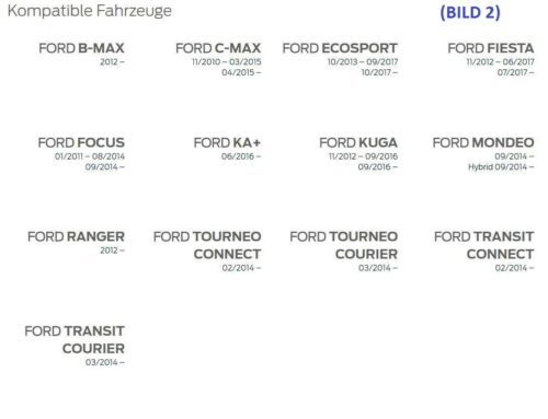 Ford Radmutter pour ORIG jantes alu Ford Mondeo Kuga Ranger Fiesta B//C-Max 5114407