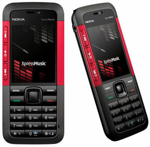 Free-Shipping-Nokia-XpressMusic-5310-Red-Unlocked-Mobile-Phone-Cheap-Bar