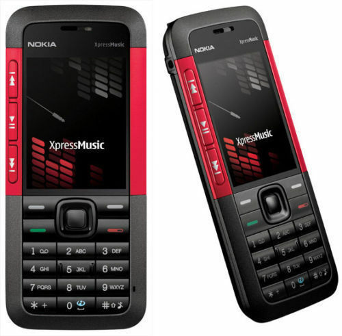 Free Shipping Nokia XpressMusic 5310 - Red (Unlocked) Mobile Phone Cheap Bar
