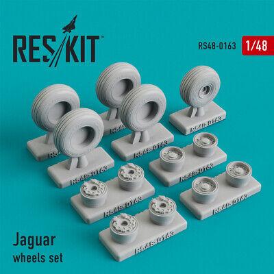 1//48 ResKit RS48-0163 Resin Upgrade set Sepecat Jaguar wheels set