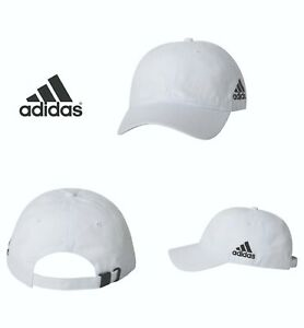 Adidas-A12-Unstructured-Cresting-Cotton-Cap-Baseball-Hat-Colors-New