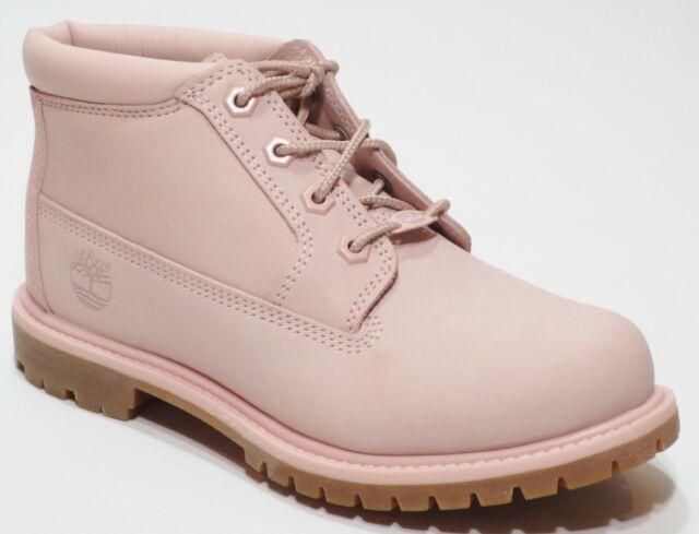 Timberland Nellie Light Pink Women/'s Waterproof Lace Up Chukka A1S7S