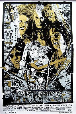 Art Print poster American Horror Film The Lost Boys Movie Vintage Fabric 24x36