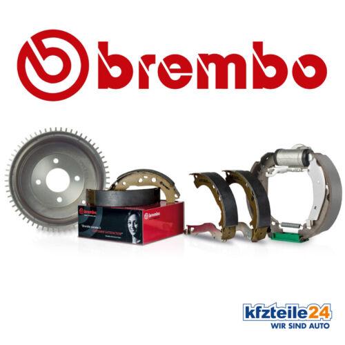 Bremsbeläge Hinten u.a für VW Audi Seat Brembo2 Bremsscheiben 180