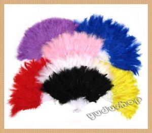 Federfaecher-Tanzfaecher-Handfaecher-viele-Farben-zu-auswaehlen