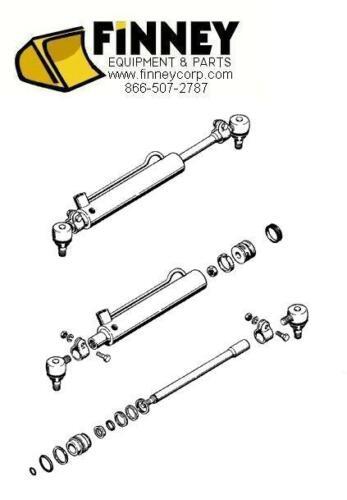 Case 580B 580C 580D 580E 580SE 580E 2wd Power Steering cylinder D128454