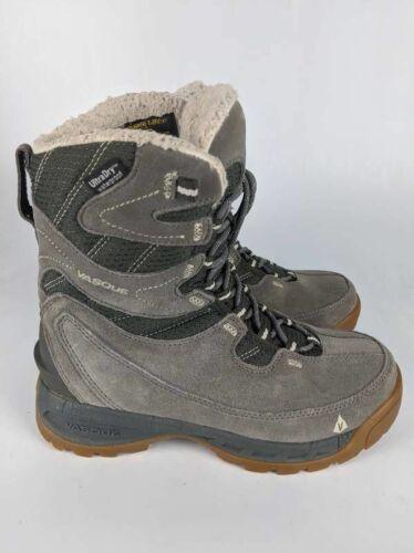 Vasque Womens Pow Pow Ultra Dry Winter Boots Gray
