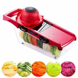 Pro-6-Blades-Mandoline-Kitchen-Tool-Vegetable-Slicer-Cheese-Cutter-Food-Chopper