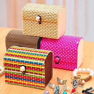 HO-AU-Creative-Bamboo-Wooden-High-Capacity-Case-Jewelry-Box-Storage-Organizer
