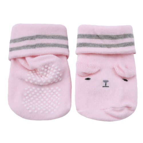 Cute Baby Soft Sole Anti-slip Socks Boy Girl Cartoon Infant Toddler Socks jian