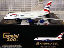 New GEMINI JETS 200 BRITISH AIRWAYS G-XLEA AIRBUS A380-800 1:200