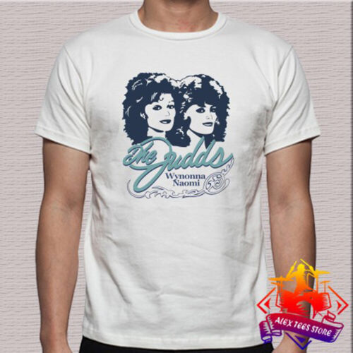 3XL The Judds Wynonna Naomi Country Music Logo Men/'s White T-Shirt Size S
