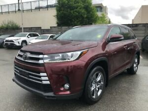 2017 Toyota Highlander Limited, Certified, No Accidents
