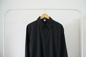 Men-039-s-GIANNI-VERSACE-Long-Sleeve-Shirt-Size-50-Large-Made-In-Italy
