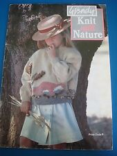 Wendy Knit with Nature Child's Clothing Knitting Pattern Book