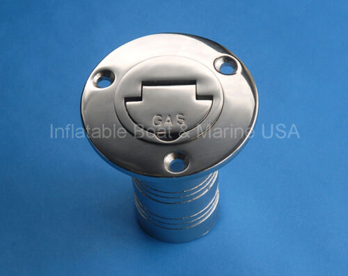 "Boat Deck Fill 1 1//2/"" Filler Keyless Cap Gas Marine 316 Stainless Steel"
