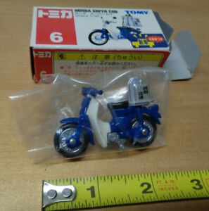 TOMY-6-HONDA-SUPER-CUB-Motor-Bike-1-33-scale-TOMICA-motorcycle-scooter-NEW
