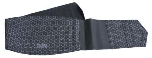IXS TEX BELT III MOTO cintura renale in nero lati interni con tessuto caldo