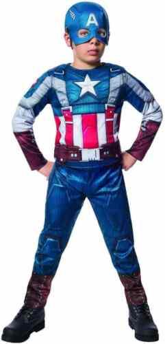 Captain America Retro Stealth Marvel Avengers Reversible Halloween Child Costume