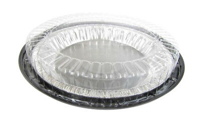 """9/"""" High Dome Plastic 2 piece Pie Carriers by D /& W fine-pack #WJ43"""