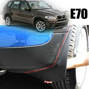 Splash Guards Mud Flaps Mud Guards 4pcs For BMW X5 E70 2007-2013