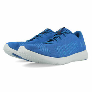Zapatos-Deportivos-Para-Hombre-Rapid-Under-Armour-Zapatillas-Sneakers-Azul-Deportes-Transpirable