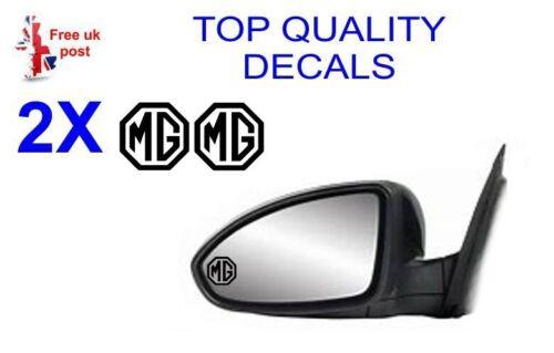 2 X MG Wing Mirror Decals  sticker